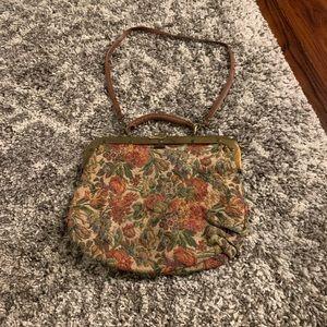 Vintage carpet bag- Neiman Marcus